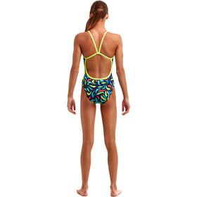 Funkita Eco Single Strap Swimsuit Girls, chilli boss